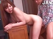 Naughty Asian Babe Gets Doggy Style Fucked