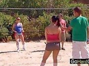 Collage Beach Sex Party Kaci Star Ashli Orion