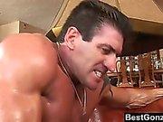 Throat Fucked Asian Babe Also Swallows