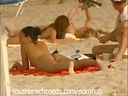 "Wild and naughty South Florida beach action in ""Girls Naked on the Beach"""