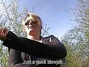 Glamour euro slut Meggie Vera public sex