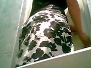 Pantyhose Piss Spycam at Wedding Toilet