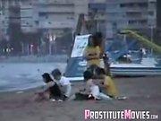Beach sex compilation spycam
