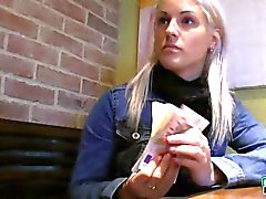 Eurobabe Beatas twat got banged in a public bathroom