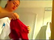 My wifes friend uses our shower!! Hidden cam!