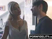 PORNFIDELITY Bridgette B Welcomes Her Brother Home