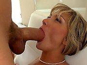 Lesbian rimjob and big cock milf cunt fuck