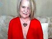 Busty Chubby Granny Fucks Her Hairy Pussy