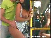 Anal sex in the crowded bus