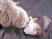 Beautiful tattooed asian women in bondage