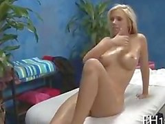 Bibi Jones (aka Britney Beth) giving swallowing cum after anal massage