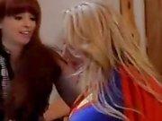 """Supergirl"" Alanah Rae Fucks Sunny Lane"