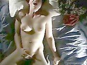 Sexy girl having a big orgasm