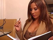 Helping his horny boss Madison Ivy