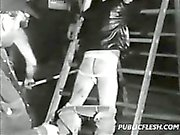Classic Gay Bondage Ass Whipping