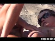 Swingers Getting It On At The Beach