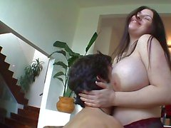 Huge titted daphne rosen drilled hard