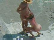 Nude Beach sex Hot amateur couple
