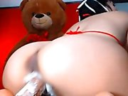 Sexy foglove69cam with perfect ass gets cumshot ALIVEGIRL