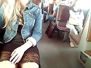 white pantys and sexy dress))