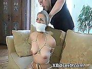 Kinky Babe In Abusive Bondage And Smothering Fetish