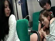 Buxom Japanese slut goes wild for a throbbing cock in a pub