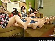 Whooping Amazing Foot Fetish Gal Explicit Makeout