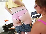 Teacher and her extreme anal sapphic