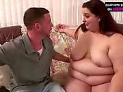 Bbw chrissy tony checking pussy size