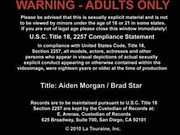 Hotties Brad Star fucks Aiden Margan.
