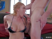 Krissy Lynn's pussy is for her husband. But her asshole