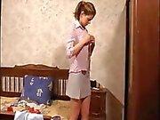 Spying on a babysitter girlfriend