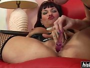 Amazing babes have fun with toys