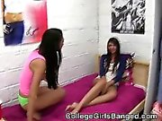 College Girls Suck Dick And Fool Around Together At Party