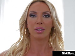 Benz BlowJob Ever! Nikki Benz Sucks Cock POV!