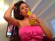 Hot Latina Webcam Dildo