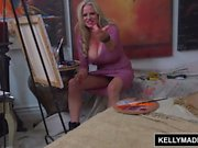 Kelly Madison Fucking the Male Art Model