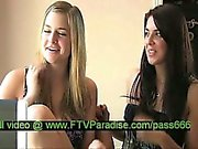 Magnificent Lesbian Girls Kissing