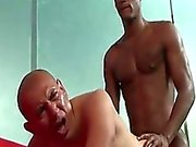 Antonio Moreno & Billy Long Interracial Anal Sex