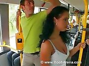 Laura.Lion Fuck on the Bus