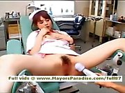 Akiho Yoshizawa innocent lovely Chinese nurse enjoys toying