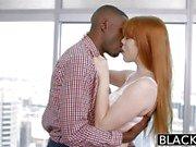 BLACKED babe Gwen Stark enjoys first interracial