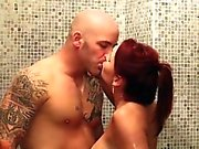 massage pussy cumshot brunette bigcock blowjob Janet Mason