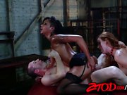 Karlie Montana And Skin Diamond Vs James Deen