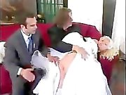 A spanking for the bride
