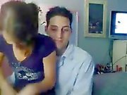 Real amateu couple homemade webcam 18 y.o.