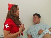 Round assed nurse Francesca Le gets Her anal hole fingered
