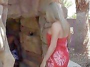 Petite Blonde Wife Cums On Black Cock
