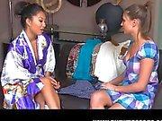 Asa Akira lesbian massage