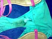 in nieces room cumming on her panties